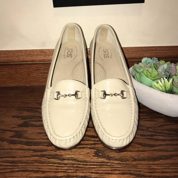 Light beige loafers